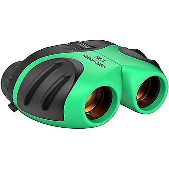 Compact Shock Proof Binoculars For Kids(Green)