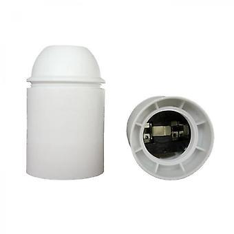 Adattatore termoplastico liscio bianco