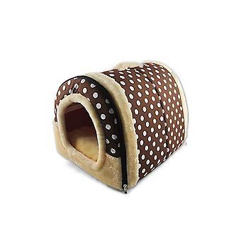 Foldable Cat Bed Cave|Non-Slip Petrabbit House With Detachable Cushion - 3 Xl