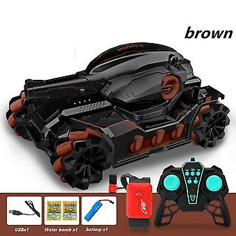 Rc Voiture Grand 4wd Tank Toy