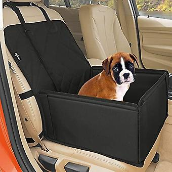 Extra Stable Dog Car Seat - Robust Car Dog Seat Or Puppy Car Seat For Small To Medium-sized Dogs - Reinforced Walls And 3 Belts - Waterproof Pet Car S