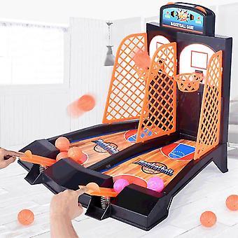 バスケットボールシューティングゲームデスクトップテーブルは、大人のためのストレスセットスポーツのおもちゃを減らす
