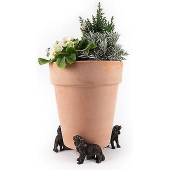Potty Feet Cavalier King Charles Spaniel Tema Växt pot fötter - Uppsättning av 3