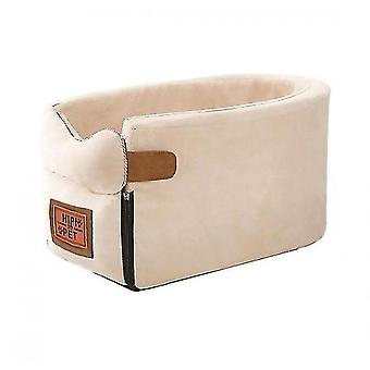 Asiento para perros Pet Carrier Universal Armrest Box Nonslip Quilted Pet Car Carrier