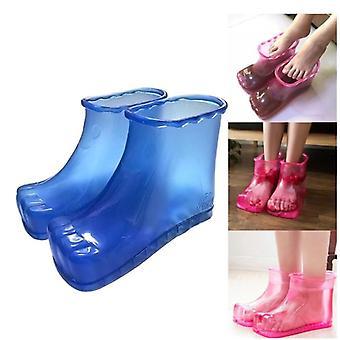 Bärbara fotbad massage skor fötter avkoppling toffel