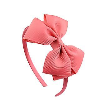 2pcs 2021 Hot Fashion Flerfarvet kvalitet Solid Hairbands Princess Hair Accessories Lady Bowknot Ribbon Hairbands Hair Decor 674