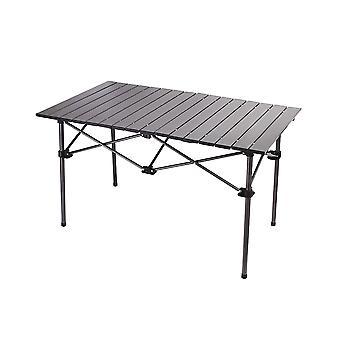 屋外折りたたみアルミ合金テーブル長方形車のバーベキューテーブル