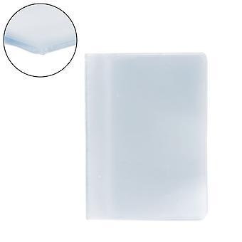 Пластиковый ПВХ Прозрачный пакет Имя Id Держатель кредитной карты Чехол Органайзер Хранитель Карман