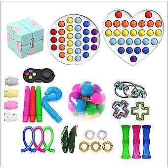 Sensory Decompression Toy Set Puzzle Diy Combination Toys -15