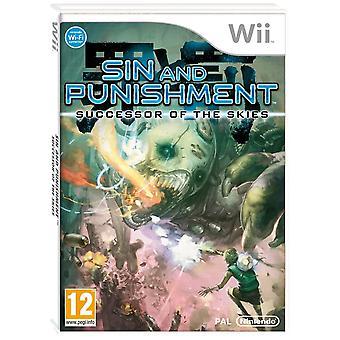 Zonde en opvolger van de straf van de hemel Nintendo Wii spel