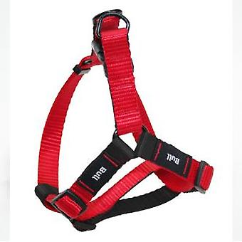 Yagu Basic Harness Red (Psy , Akcesoria spacerowe , Szelki)