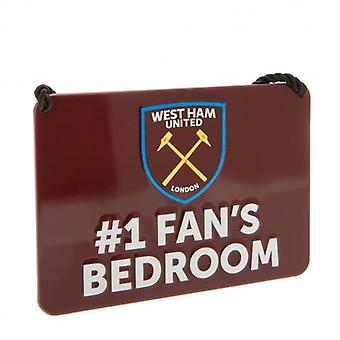 West Ham United soverom tegn No1 Fan