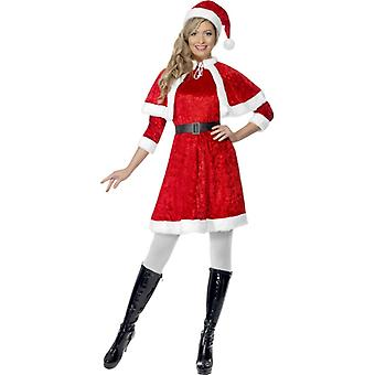 Miss Santa pluche kostuum Nicholas dames kerst