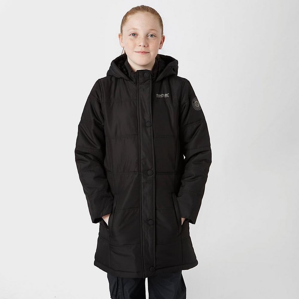 Ny Regatta jente ' s vinter Hill walking casual jakke svart