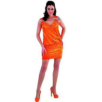 Kostüme Frauen Holland orange Kleid