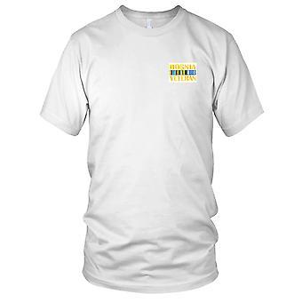 Bosnia Veteran båndet brodert Patch - Kids T skjorte
