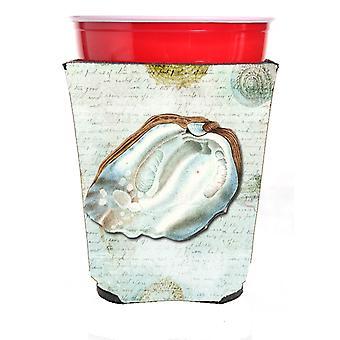 Carolines trésors SB3031RSC coquilles rouge coupe Solo boissons isolant Hugger