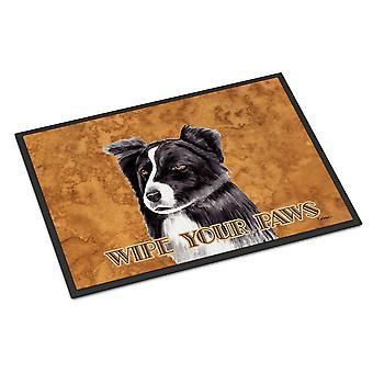 Carolines Treasures  SC9138MAT Border Collie Indoor or Outdoor Mat 18x27 Doormat