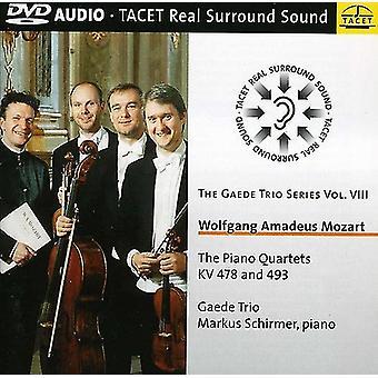 W.a. Mozart - Mozart: The Piano Quartets Kv 478 and 493 [DVD-Audio] USA import