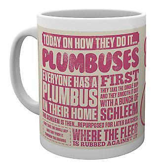 Rick und Morty Plumbus wie sie tun es Mug