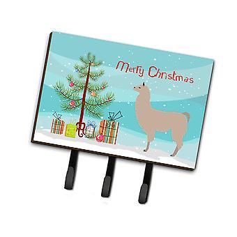 كارولين BB9283TH68 الكنوز اللاما عيد الميلاد المقود أو حائز المفتاح