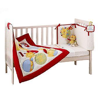 Suncrest Jolly Jamboree 5 Piece Cot Bedding Set