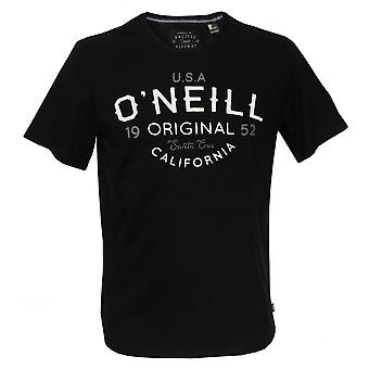 O ' Neill elementos originales algodón orgánico-shirt, Black Out