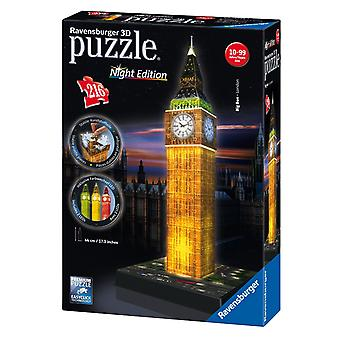 Ravensburger Big Ben - Nacht-Edition, 216pc 3D Puzzle