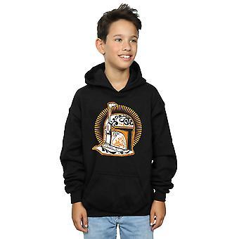 Star Wars Boys Boba Fett Dia De Los Muertos Hoodie