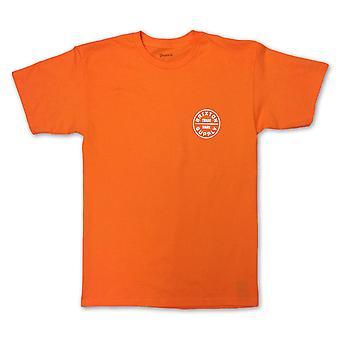 Brixton valan t-paita oranssi