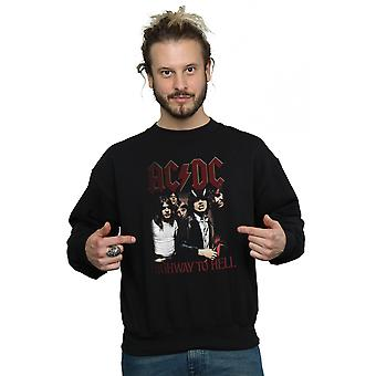 AC/DC mænds Highway To Hell Sweatshirt