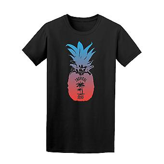 Tropical Surf Pineapple Tee Men's -Image by Shutterstock