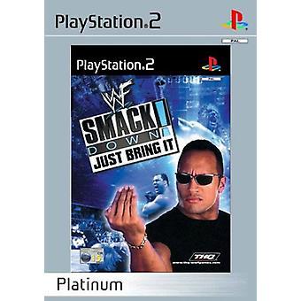 WWF SmackDown bara ge det Platinum-nytt