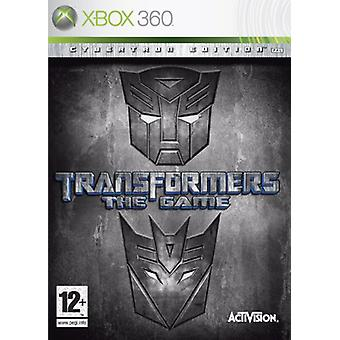 Transformers spelet-Cybertron Edition (Xbox 360)-ny