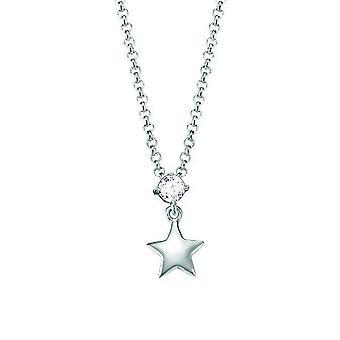ESPRIT dzieci łańcuch naszyjnik Silver Star cyrkonia ESNL93161A340