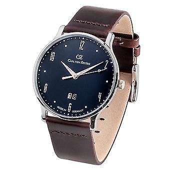 Carl of Zeyten men's watch wristwatch quartz Lenzkirch CVZ0019BL
