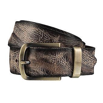 BERND GÖTZ belts men's belts leather belt multi Brown 3896
