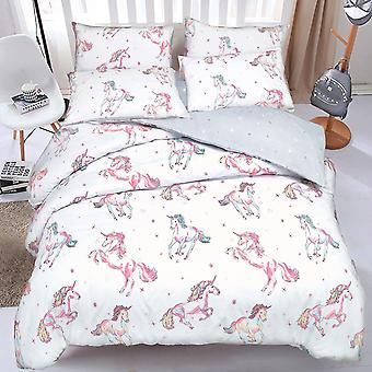Pieridae Unicorn Duvet Cover Quilt Cover Bedding Set