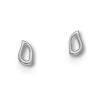 Sterling sølv tradisjonelle moderne moderne blomstre Design par øredobber - E1660