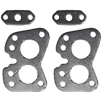 Remflex 7001 Exhaust Gasket for Toyota L4 Engine, (Set of 2)