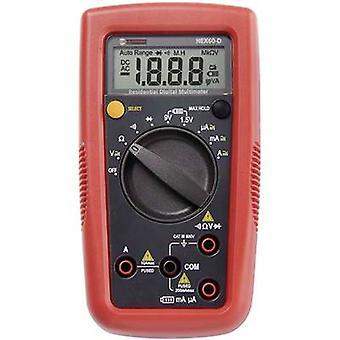 BEHA Amprobe Hexagon 60 kannettava yleismittari digitaalinen CAT III 600 V näyttö (laskee): 2000