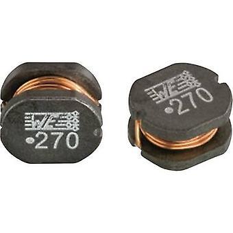 Würth Elektronik WE-PD2 HV 768776322 Smoothing choke SMD 1060 2200 µH 4.4 Ω 0,18 A 1 dator