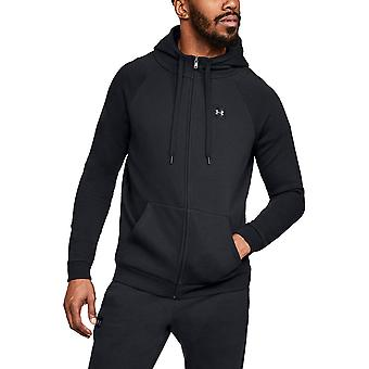 Under Armour Mens Rival Fleece Light Full Zip Training Hoodie Sweater