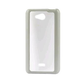 Reiko - PC/TPU-dunne beschermende Case voor LG MS870 - wit