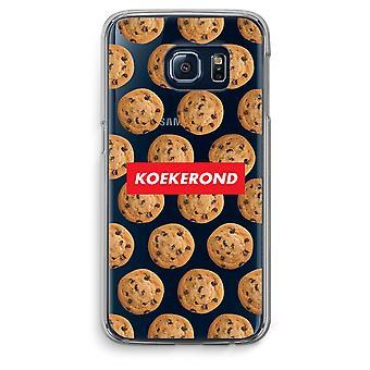 Custodia trasparente Samsung Galaxy S6 Edge (Soft) - Koekerond