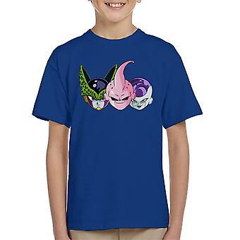 3 Enemies Dragon Ball Z Kid's T-Shirt