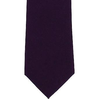 Michelsons af London almindelig uld slips - lilla