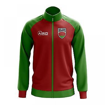 Valko-Venäjän käsite jalkapallo Track Jacket (punainen)