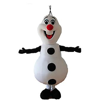 mascot SPOTSOUND of Olaf, the snow Queen snow snowman