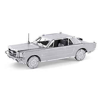 Metall-Erde 1965 Ford Mustang Coupe Silber Edition